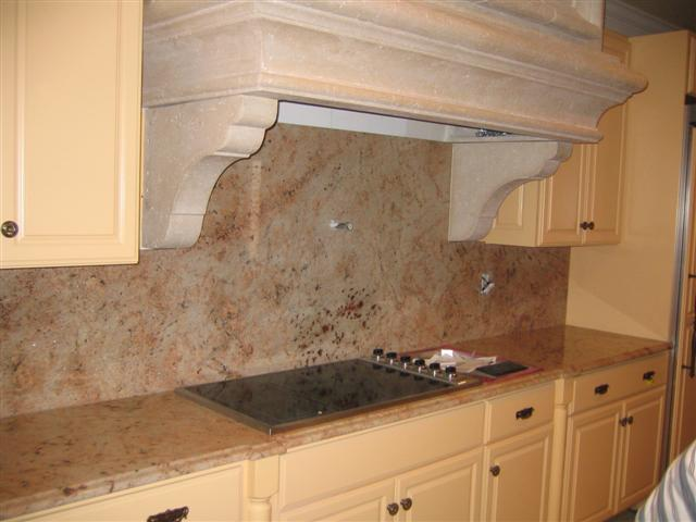 drop in stove creates more counter and cabinet space